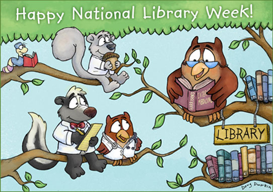 Happy National Library Week (medical style)!